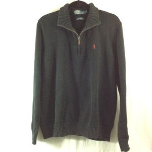 Polo by Ralph Lauren Other - POLO by Ralph Lauren black zip up sweater