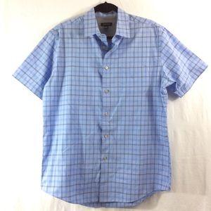 Van Heusen Other - Van Heusen light blue short sleeve button up