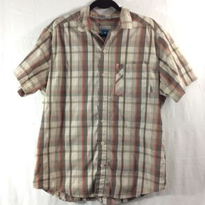 Columbia Other - Columbia Omni-Wick short-sleeve plaid button-up