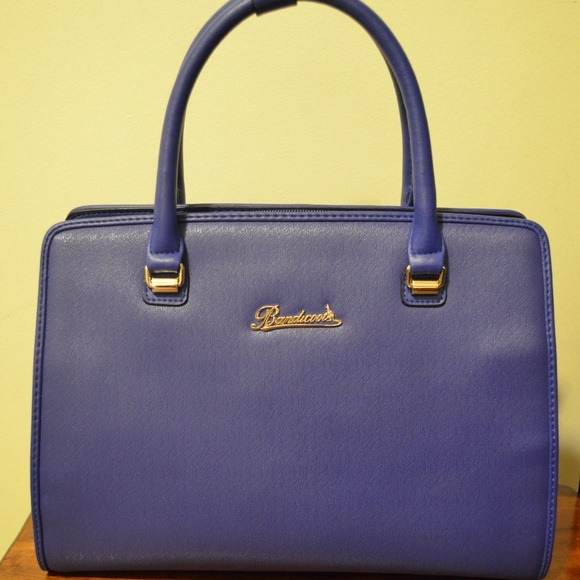 Bandicoot Royal Blue Leather Bag OS from Mandy's closet on Poshmark