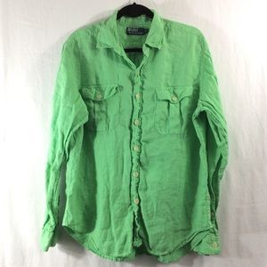 Polo by Ralph Lauren Other - POLO by Ralph Lauren green button-up