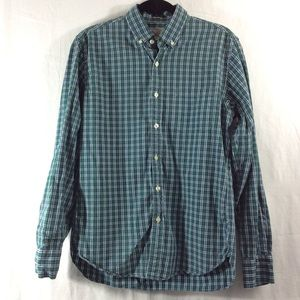 J. Crew Other - J. Crew slim fit green button up