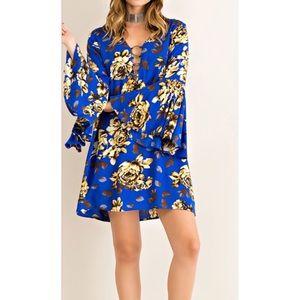 ✨ hour sale  ✨Boho blues Dress
