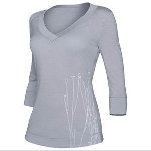 Icebreaker Tops - Icebreaker Cruise 150 Reeds shirt Merino wool XS