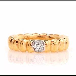 John Hardy Jewelry - 18k gold John Hardy Diamond wedding ring band