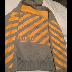"""Off-White Other - """"Off-White"""" Moncler pullover hoodie 2017)"""