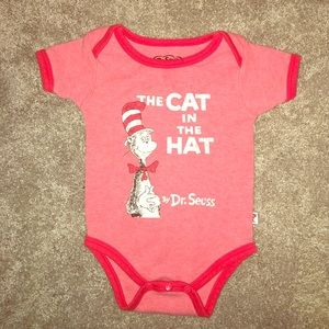 Bumkins Other - Infant 9 Months The Cat in the Hat bodysuit