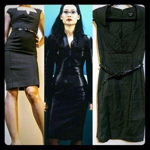 Snap Dresses & Skirts - Boss Bee Slinky Pinstripe Pencil Dress