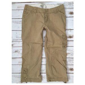 BKE Pants - BKE Buckle Canyon Cargo Chino Khaki 27 x 23 Beige