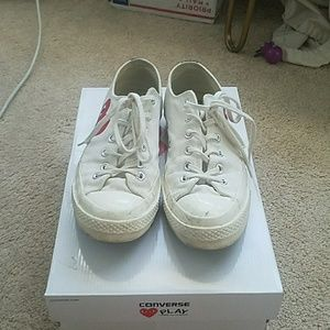 c19b4771e92a Comme des Garcons Shoes - CDG Play Converse with Box and Tags inside