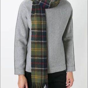 Barbour Accessories - Barbour unisex plaid fringed scarf