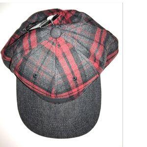 Other - Stylish Plaid SnapBack Baseball Cap