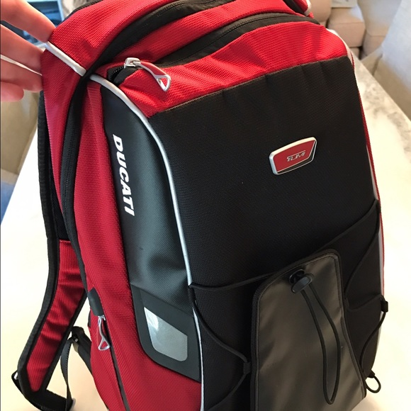 9d68dca5078c7 Tumi Ducati Special Edition Backpack Red. M 58b9861078b31c1e9700ef36