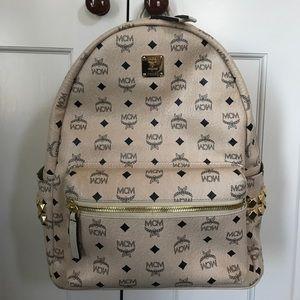 MCM Handbags - MCM Medium Stark Backpack