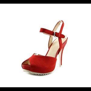 Nine West Ratical Open Toe Platform Sandals
