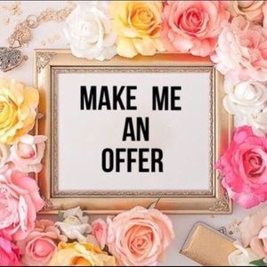 🌸 I consider ALL reasonable offers. 🌸