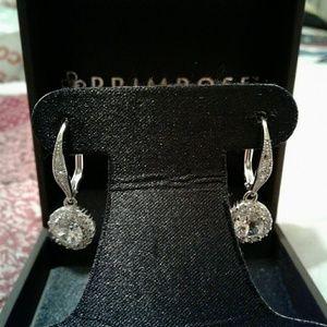Jewelry - BEAUTIFUL EARRINGS CUBIC ZIRCONIA STERLING SILVER