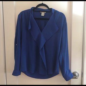Alberto Makali Tops - Royal Blue Stunning Blouse 🌟 Perfect Condition!