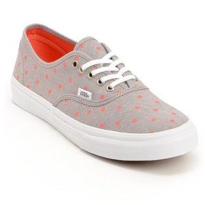 Vans Shoes - Vans pois dot sneakers