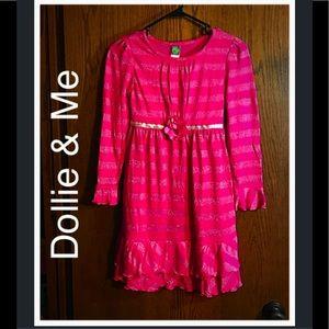 Dollie & Me Other - 🎈BOGO 1/2🎈Girls Pink Sparkle Dress- Like New