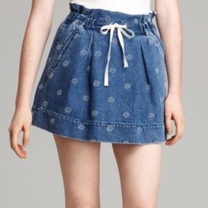 Marc by Marc Jacobs Dresses & Skirts - Marc by Marc Jacob's Denim Drawstring Skirt