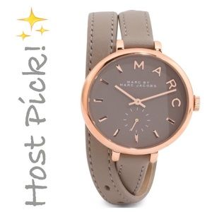 Marc by Marc Jacobs Accessories - ✨NWT✨ Marc Jacobs Sally Double Wrap Leather Watch