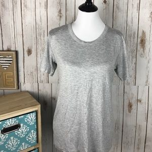Tops - Casual Light Gray Top