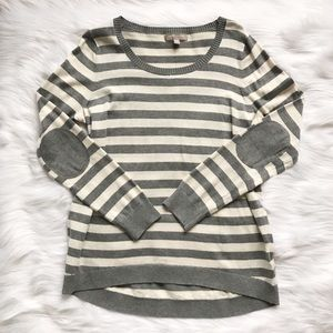 Banana Republic Sweaters - NWT Banana Republic Elbow Patch Striped Sweater