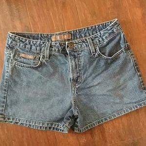 lei Pants - Lei Denim Shorts