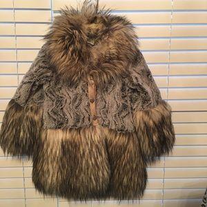 Little Mass Other - Little Mass faux fur jacket