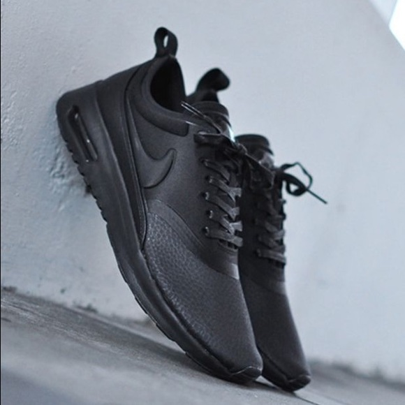7bf84beeb70 Women s Nike Air Max Thea Ultra PRM Triple Black
