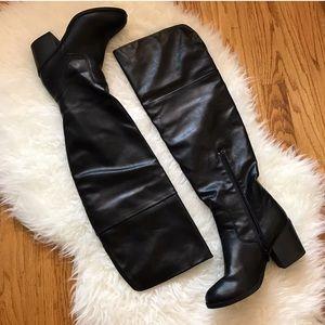 Shoes - OTK Black Boots! Sz 7 1/2