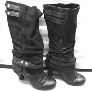 Fegaliscious Fergie Black Cassidy Boots 8