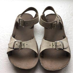 Salt Water Sandals by Hoy Other - White Saltwater Sandals - Kids Size 10