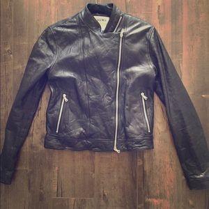 L'AGANCE Leather Jacket