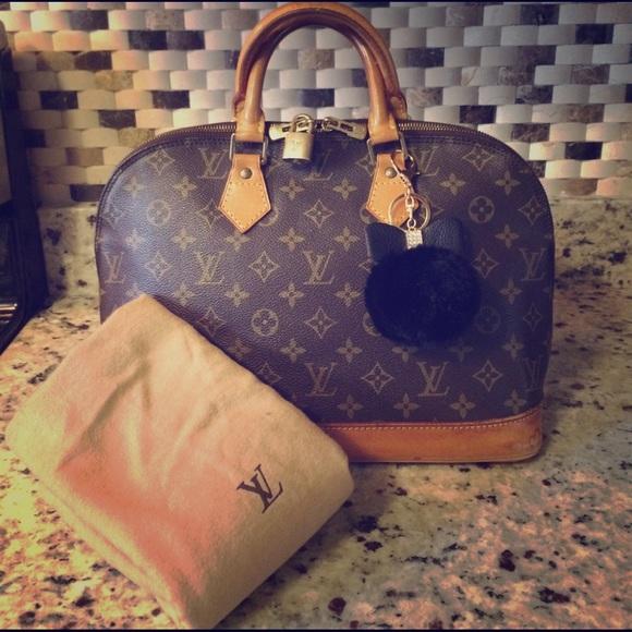 12b208cf9e46 Louis Vuitton Handbags - 🔥SALE 🔥100% Authentic LV Alma PM