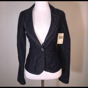 Guess Jackets & Blazers - NWT Guess Denim Blazer