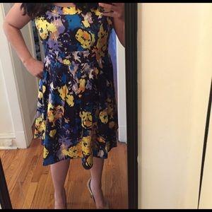 Donna Ricco Dresses & Skirts - Blue floral dress