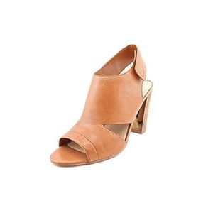 Marc Fisher Shoes - Marc Fisher Leotis leather cutout peep toe heels