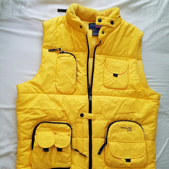 Triple Soul Retractable With Hood Five Vest Puffy yYb7fg6