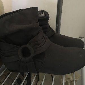 Grey Booties! Never worn!