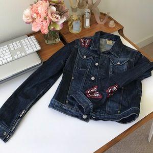 7 for all mankind denim jacket - XS