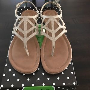 Kelly & Katie Shoes - Kelly & Katie taupe sandals