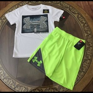 Under Armour Other - UNDER ARMOUR (5) KIDS OUTFIT