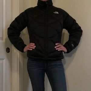 The North Face Jackets & Blazers - North face black puffer jacket