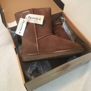 BearPaw Shoes - Emma Short in Hickory II