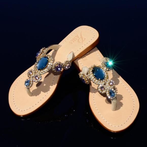 eef8b2c17cb Jewelry Sandals Pasha Corinth ( flats)
