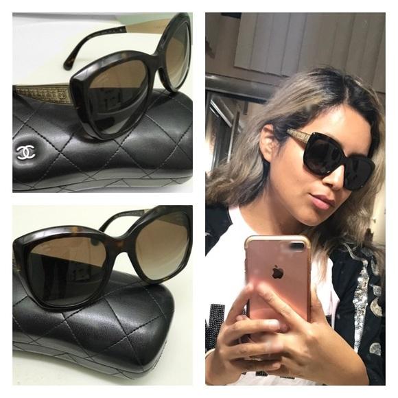 0e79f4af2c CHANEL Accessories -  620 Chanel Polarized Square Signature Sunglasses