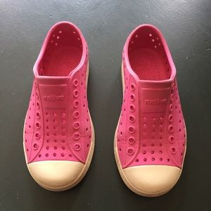 Native Other - Cute and Stylish Native Kids Shoes in pink.