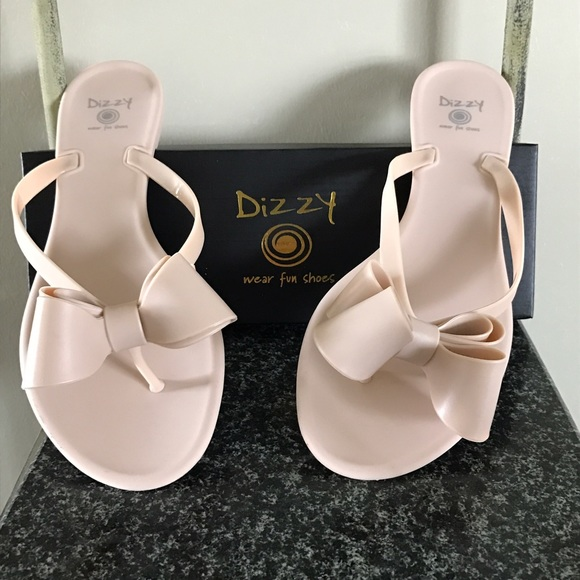 efd85c4f5a7 Matted bow sandals. Boutique. Dizzy